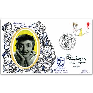 1998 Comedians - Signed Pam Ayres