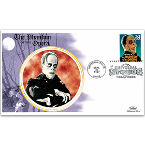 1997 Phantom of the Opera FDC pmkd Universal City, USA