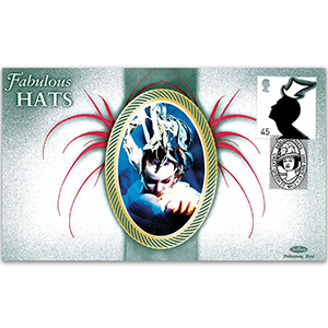 2005 Fabulous Hats - 45p Stamp