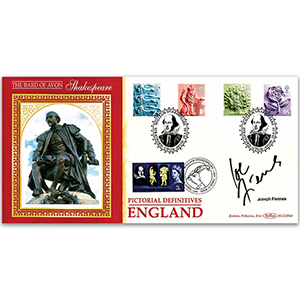2001 English Pictorial Definitives - Signed Joseph Fiennes