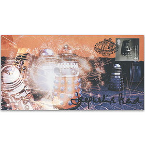 2000 Doctor Who Cover - Signed by Jacqueline Pearce