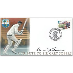 2004 Tribute to Gary Sobers - Signed by Sir Gary Sobers