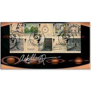 2004 Lord of The Rings Stamp Cover - Signed by Chris Archilleos