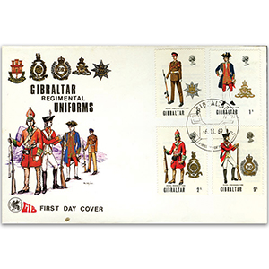 1969 Gibraltar Regimental Uniforms cover