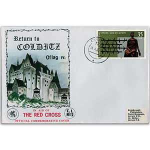 1980 Return to Colditz Official Cover