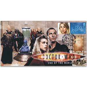 2005 Dr Who End of the World Cover