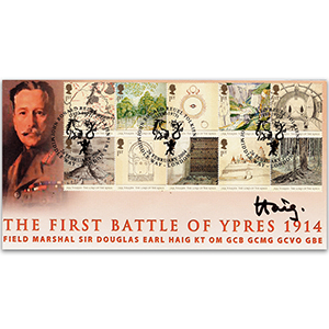 2004 Lord of the Rings - 1st Battle of Ypres 90th - Signed by Earl Haig
