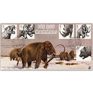2006 Ice Age Mammals - Bradbury FDC