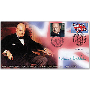 2005 VE Day 60th - Doubled 2015 for Churchill 50th - Signed by Field Marshall Michael Walker