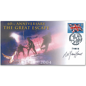 2006 The Great Escape 60th Anniversary - Signed by Sqn. Ldr. B. A. 'Jimmy' James