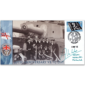 2005 60th Anniversary VE/VJ Day - Signed Admiral Sir Alan West