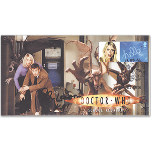 Dr Who School Reunion Signed John Leeson