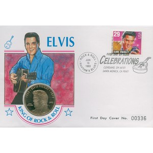 1993 USA Elvis - King of Rock and Roll Coin Cover