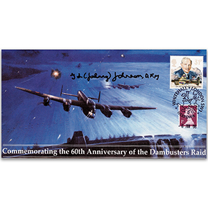 2003 Dambusters 60th - Signed by Sqn. Ldr. George L. 'Johnny' Johnson DFM