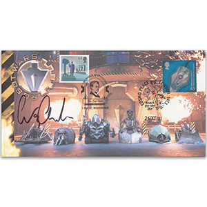 2001 Robot Wars - Signed by Craig Charles - Doubled