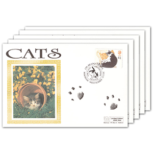 1995 Cats Set of 5