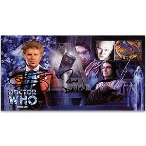 Dr Who Timelash - Signed Baker & Darrow