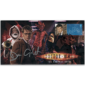 2007 Doctor Who Cover - 'Runaway Bride' -  Signed by Don Gilet