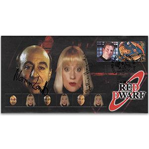 2007 Red Dwarf - Signed by Norman Lovett & Hattie Hayridge