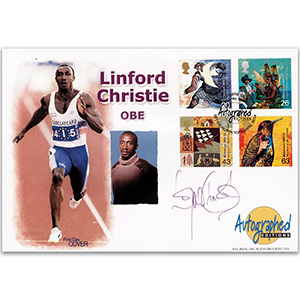 1999 Settlers' Tale - Autographed Editions - Signed by Linford Christie OBE