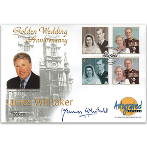 1997 Golden Wedding - Autographed Editions - Signed by James Whitaker