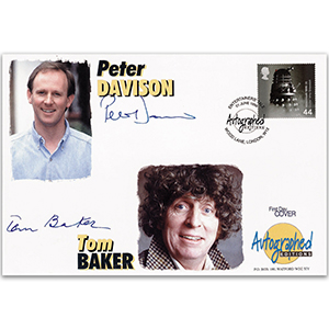 1999 Entertainers' Tale - Autographed Editions - Signed by Tom Baker and Peter Davison