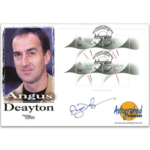 1999 Millennium Timekeeper - Autographed Editions - Signed by Angus Deayton
