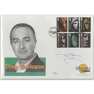 2003 British Museum 250th - Signed by Tony Robinson