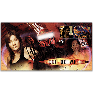 2008 Doctor Who Cover - '42' - Signed by Michelle Collins