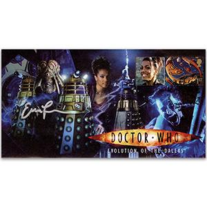 Dr Who Evolution of the Daleks - Signed Eric Loren