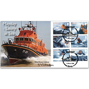 2008 SOS Rescue at Sea - Dover - Signed by Stuart J. Richardson