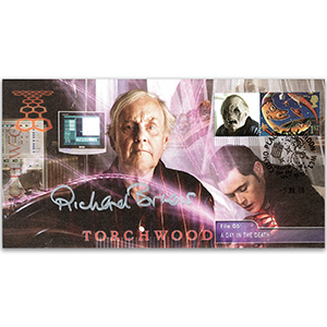 2008 Torchwood - File 05 - Signed by Richard Briers CBE