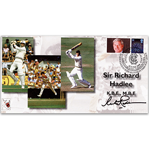2008 Cricket Signed Richard Hadlee