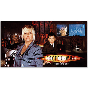 2009 Doctor Who Journeys End - Signed Camile Coduri