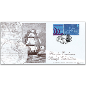 2005 World Stamp Expo: Pacific Explorer - Year of the Sea - Southampton