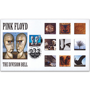 2010 Classic Album Covers - Scott Pink Floyd single stamp Official