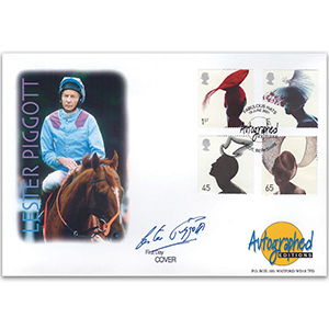 2001 Fabulous Hats - Autographed Editions - Signed by Lestor Piggott