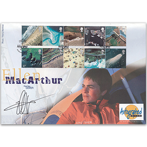 2002 Coastlines - Autographed Editions - Signed by Ellen MacArthur