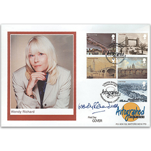 2002 Bridges - Signed by Wendy Richard MBE