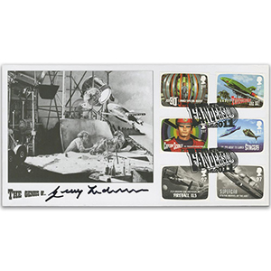 2011 Thunderbirds Stamps - Thunderbirds 2 Launch - Signed Gerry Anderson