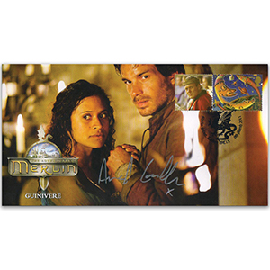 2011 Merlin Cover - Guinivere - Signed by Angel Colby