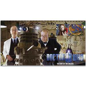 Dr Who Victory of the Daleks - Signed Ian McNeice