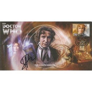 The Eighth Doctor Signed by Yee Jee Tso