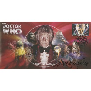 The Third Doctor signed by Katy Manning