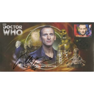 The Ninth Doctor Cover Signed by Camille Coduri