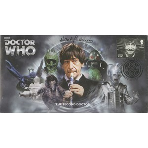 The Second Doctor signed by Wendy Padbury