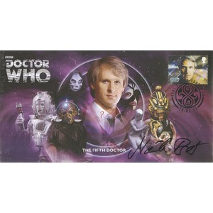 The Fifth Doctor signed by Nicola Bryant