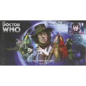 The Fourth Doctor signed by Tom Baker