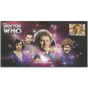 The Sixth Doctor Signed by Bonnie Langford
