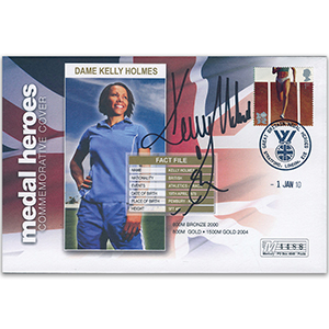 2010 Medal Heroes - Stratford - Signed by Dame Kelly Holmes